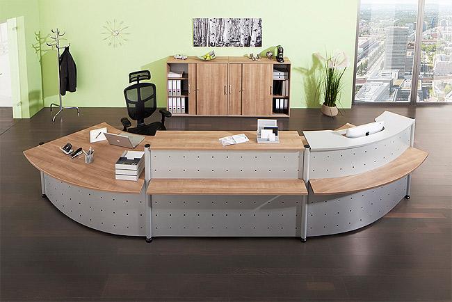 Büroeinrichtung empfang  Büromöbel Schnell-Lieferprogramm - ihr-buero48.de